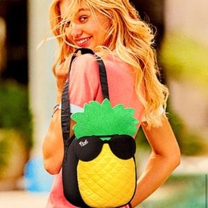Victoria's Secret PINK Pineapple Cooler Lunch Tote